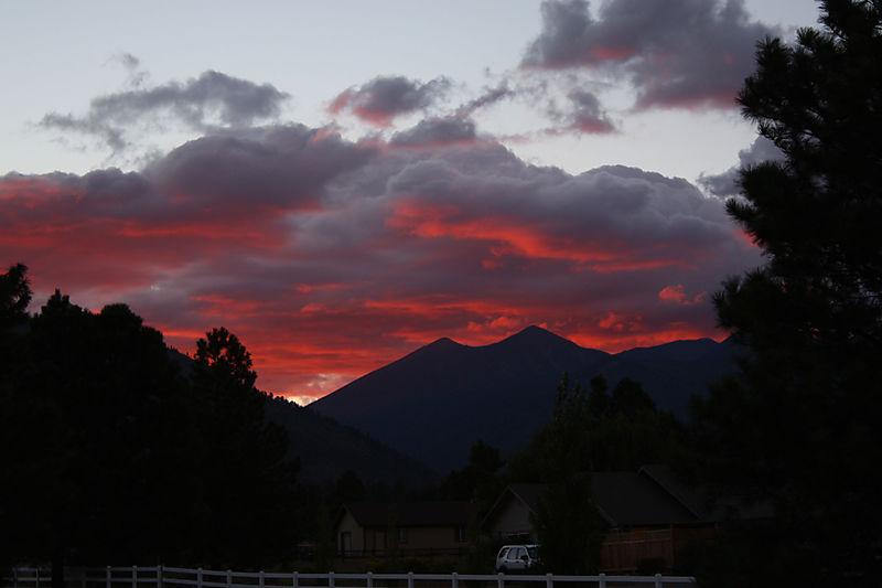 Driveway-Sunset