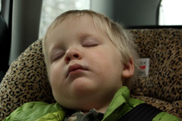 Cael-sleeping
