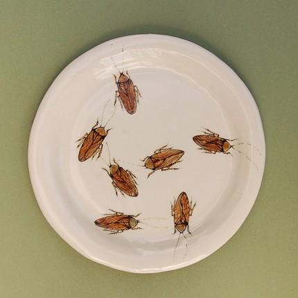 Roach plate