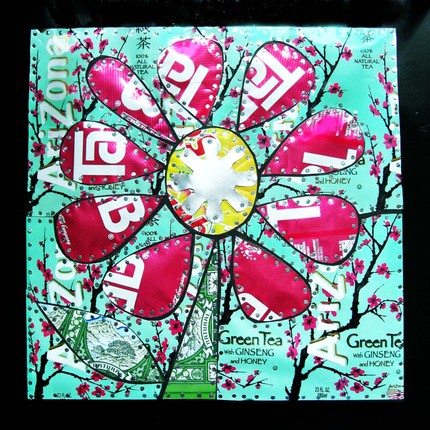 Odd mom out monday 5 - Recycled can art projects ...